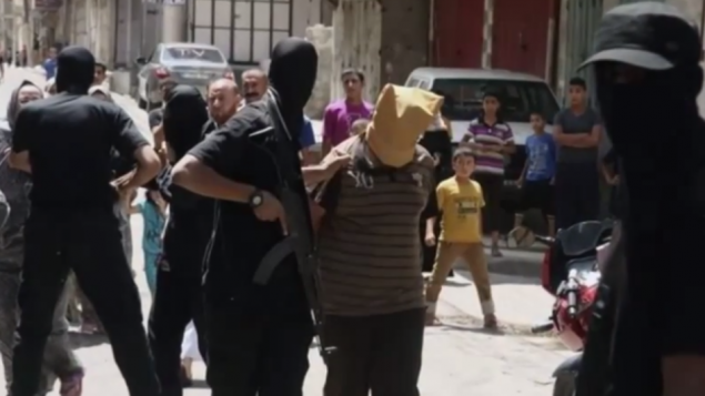 One of 22 Palestinians summarily executed by Hamas on Aug. 22