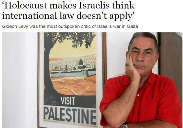 Gideon Levy recycles a likely fabricated Golda Meir quote for the Irish Times