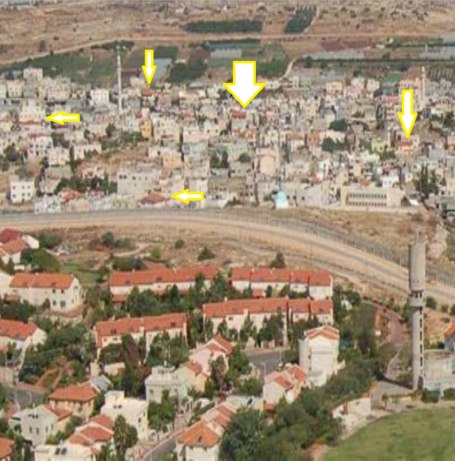 Bizarre claim in the Guardian: 'Red roofs are mandatory in Israeli settlements'
