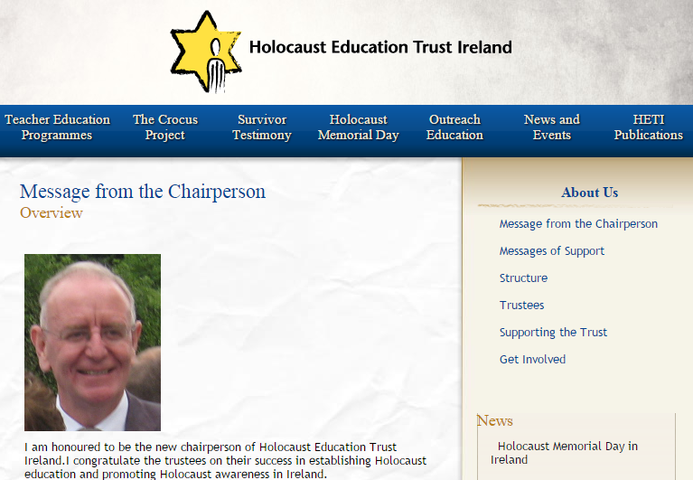Exclusive: The four 'controversial' words banned at Ireland's Holocaust event