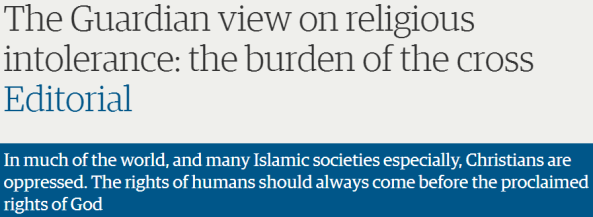 35 weaselly words: Guardian obscures the reality of religious freedom in Israel