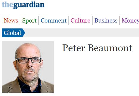 Once again, Peter Beaumont contradicts Peter Beaumont
