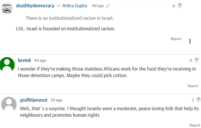 The racism of the Guardian and its readers revealed in two migrant articles.