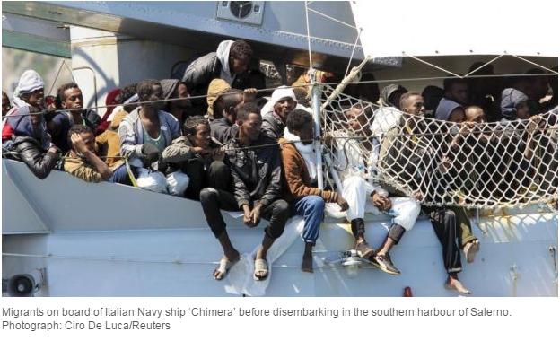 Irish times refugees pic