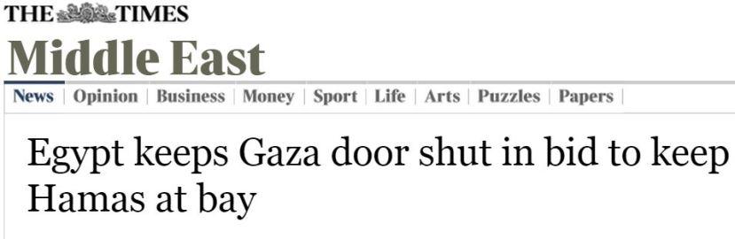 times headline