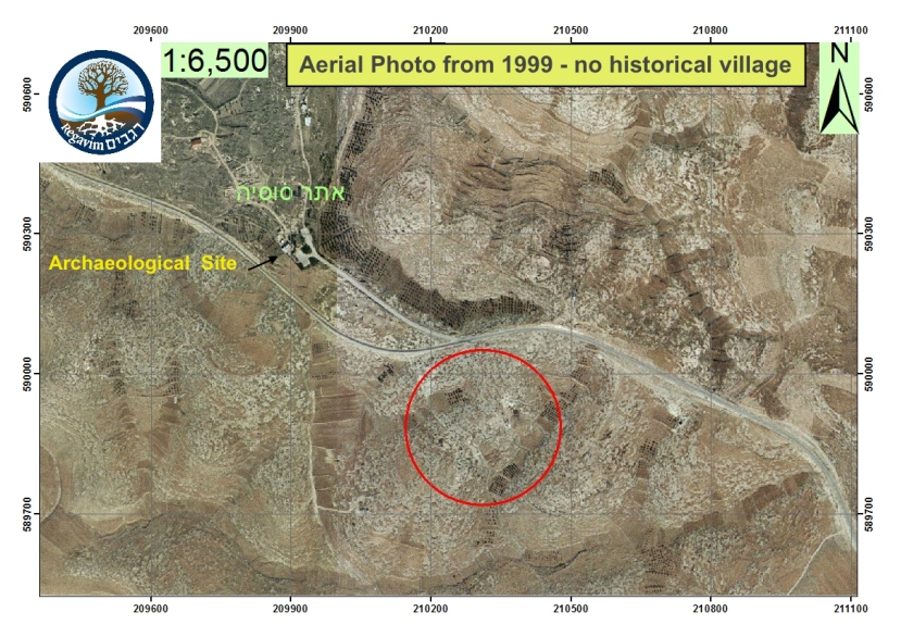 Aerial-Photo-Susiya-area-1999