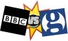 bbc vs guardian copy