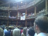 Signatory Tony Greenstein was amongst dispruptors of Habima's Merchant of Venice at The Globe in 2012.