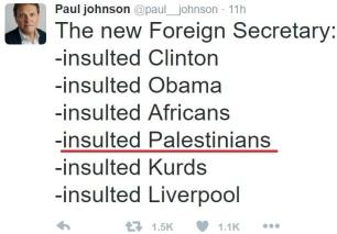 paul johnson tweet