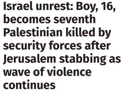 Send us examples of bad headlines on Israel in the British media