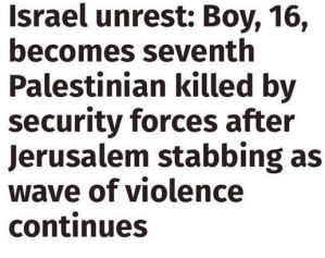 independent headline bias israel