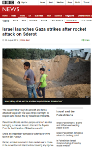 Sderot attack art
