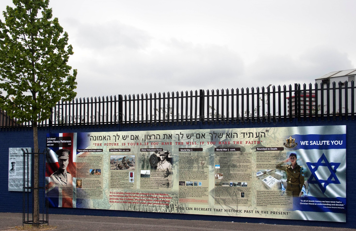 Northern ireland a template for peace in the middle east for Extra mural meaning