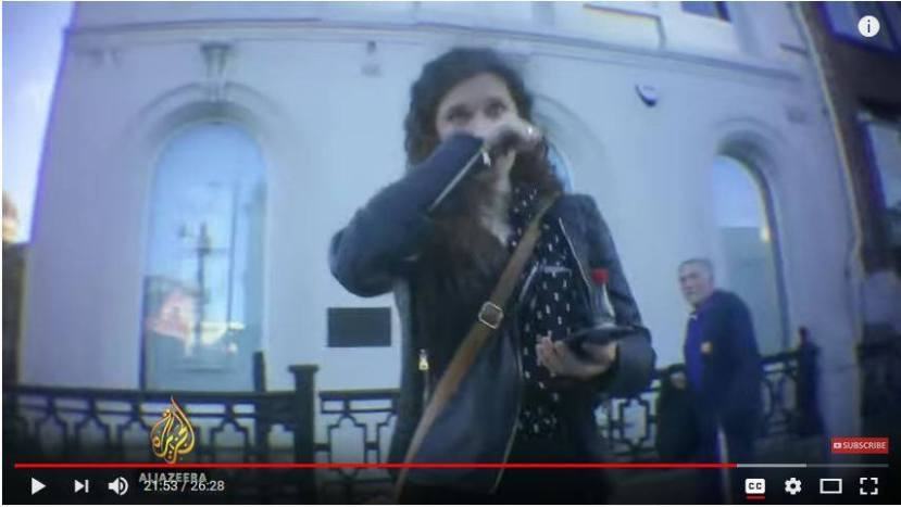 Ella Rose filmed in distress on Al Jazeera's The Lobby was not found by OFCOM to be in breach of its code.