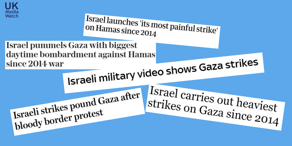 British media pummel Israel with some of the most biased headlines since 2014