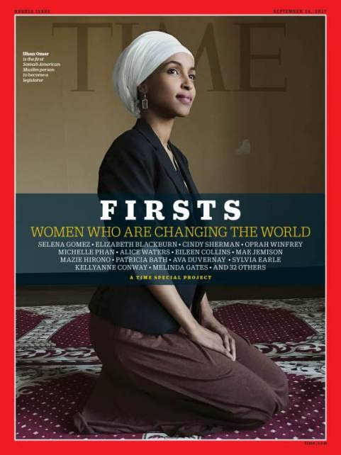 Guardian promotes view that racism is behind criticism of Ilhan Omar Firsts