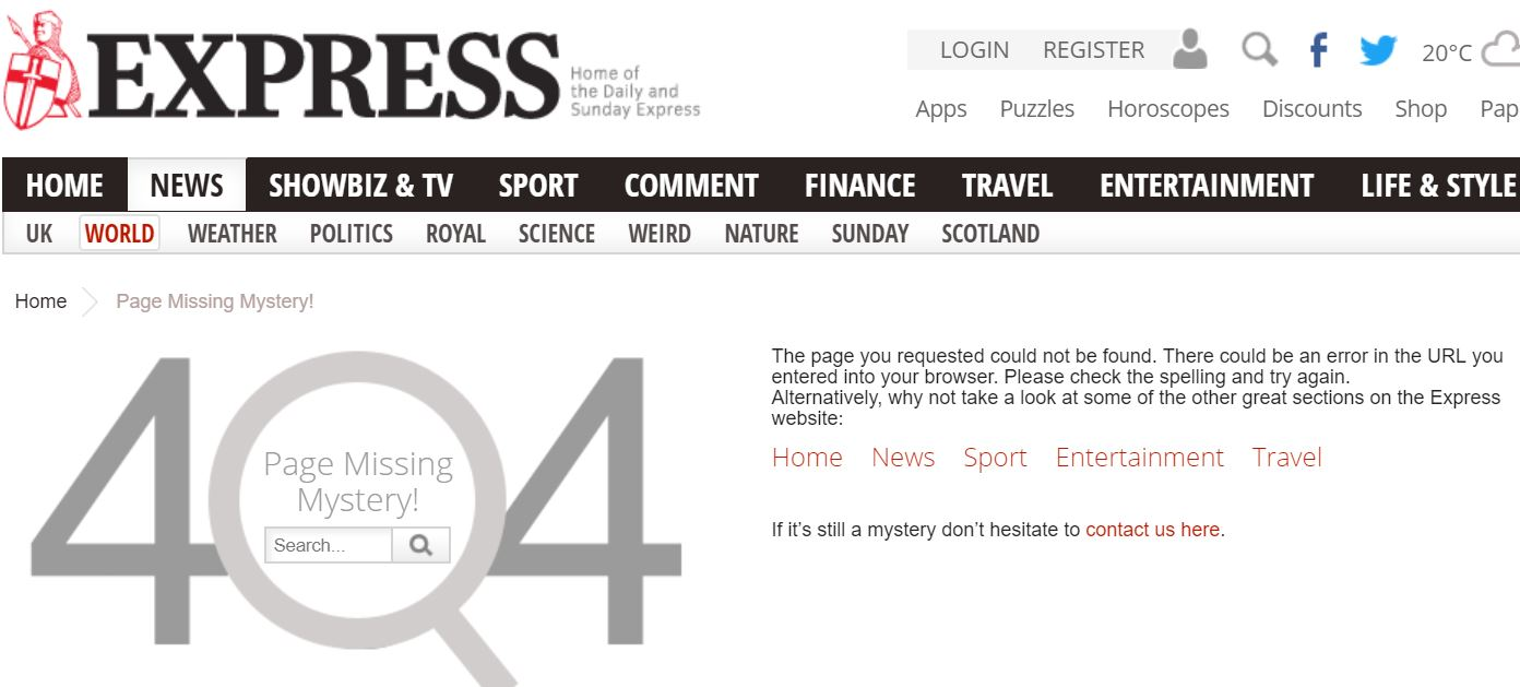 UKMW prompts Daily Express to retract article with multiple 'Tel